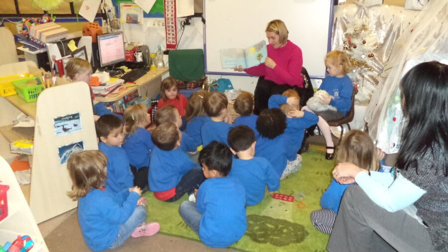 Nursery's first Mystery Reader