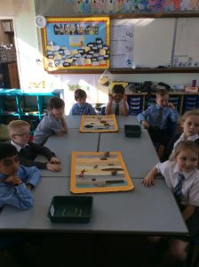 Ordering artefacts in chronogical order.